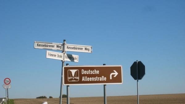 """""""Deutsche Alleenstrasse"""" Soest-Höxter"""
