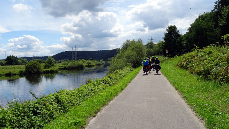 Panoramarad-Wege Tag 1