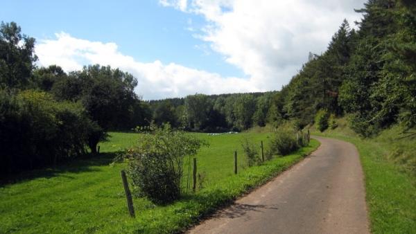 Eifel-Höhen-Route zweiter Teil T2 Ahrhütte – Blankenheim – Urft – Mechernich