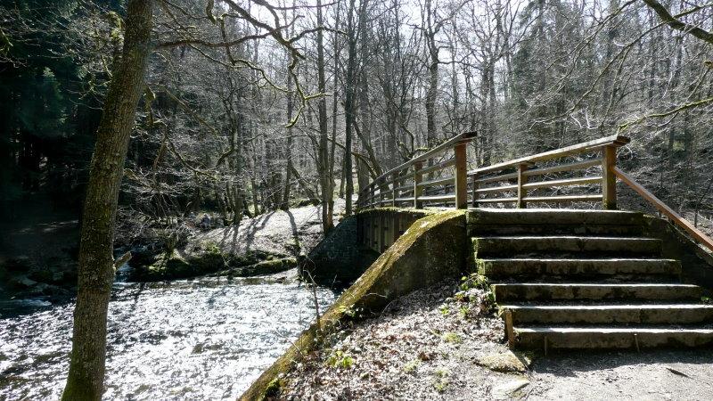 Eifel-Höhen-Route Tag 1 Kall-Gemünd-Rurstausee-Monschau-Kalterherberg